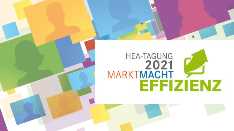 Jetzt anmelden: HEA-Tagung vom 6. bis 8. Oktober 2021 – digital und kostenfrei